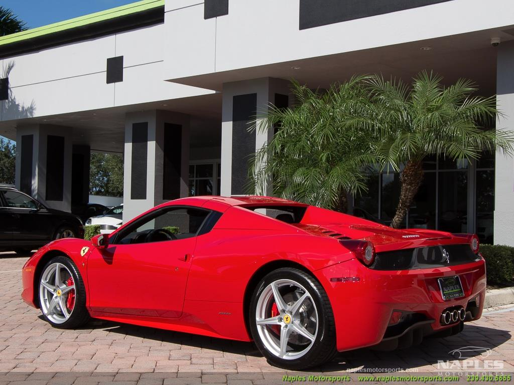 2014 Ferrari 458 Spider - Photo 27 - Naples, FL 34104