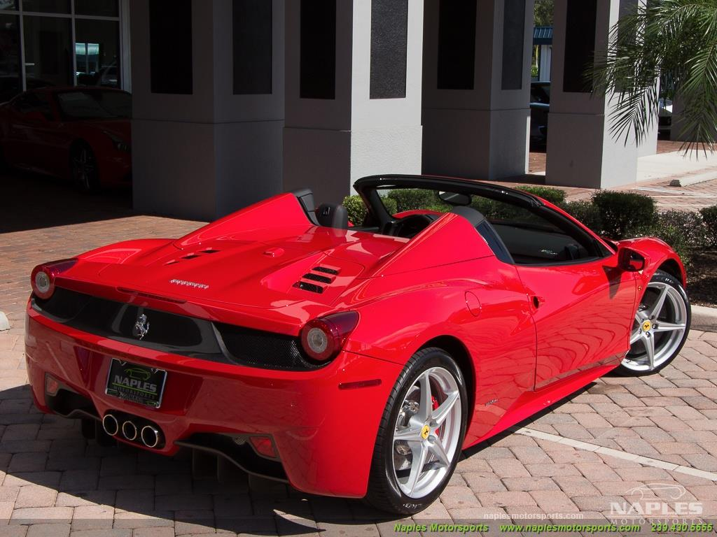 2014 Ferrari 458 Spider - Photo 51 - Naples, FL 34104