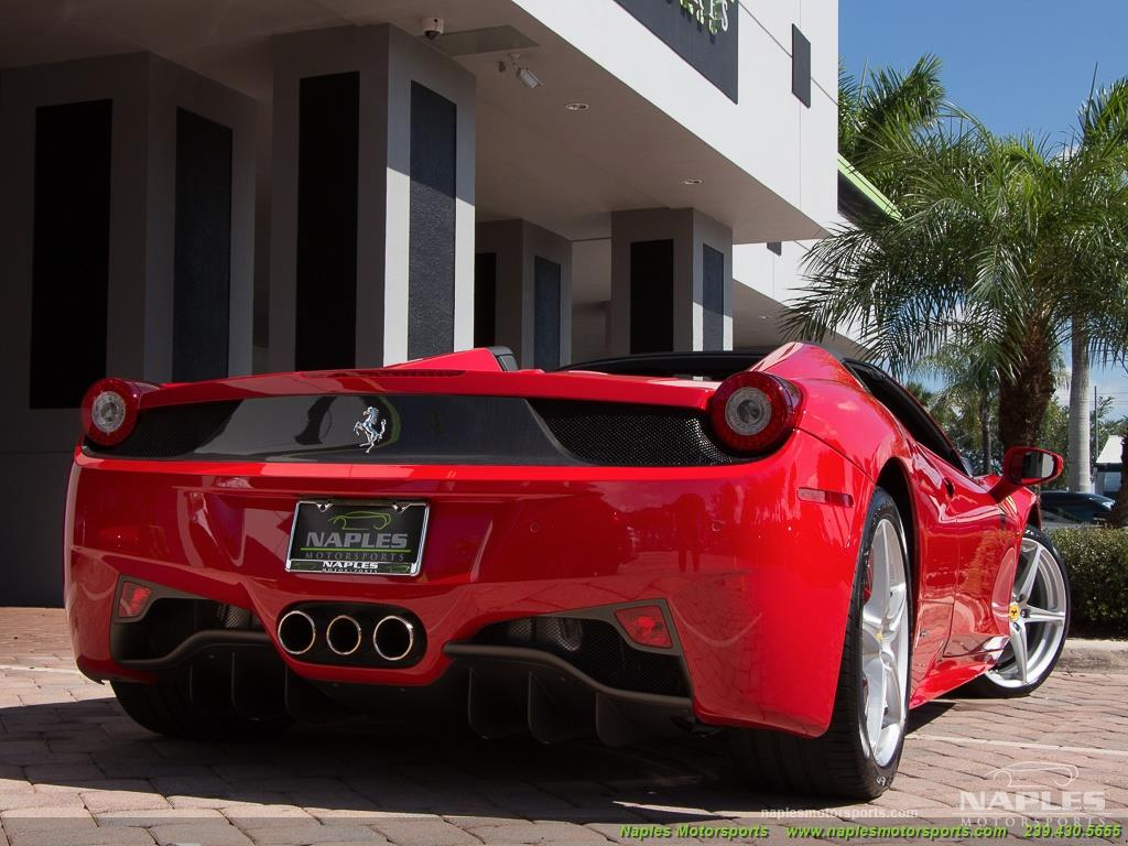 2014 Ferrari 458 Spider - Photo 54 - Naples, FL 34104
