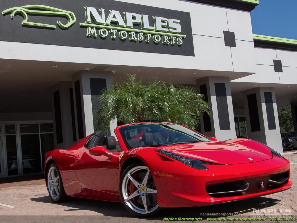 2014 Ferrari 458 Spider - Photo 38 - Naples, FL 34104