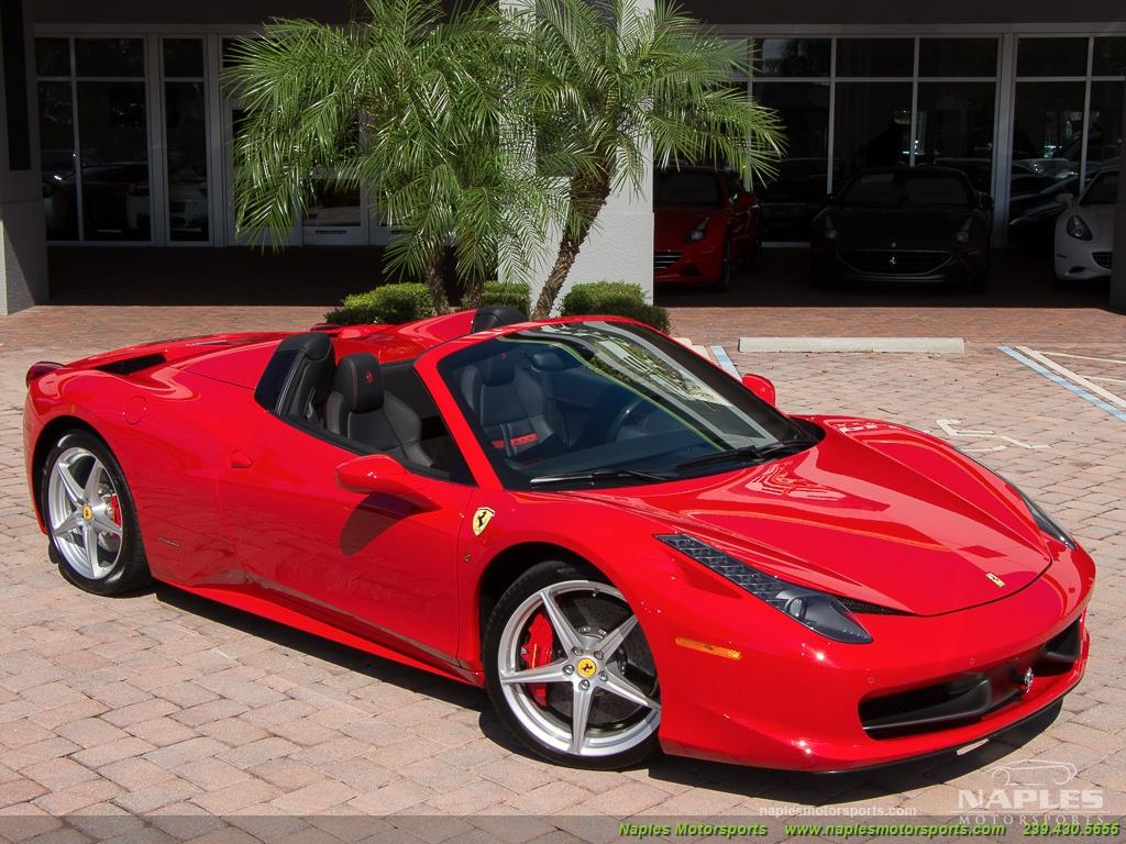 2014 Ferrari 458 Spider - Photo 55 - Naples, FL 34104