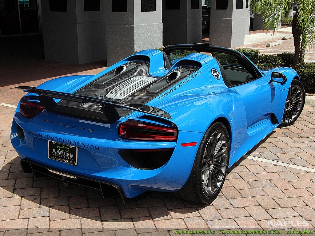 2015 porsche 918 spyder 918 spyder photo 56 naples fl 34104