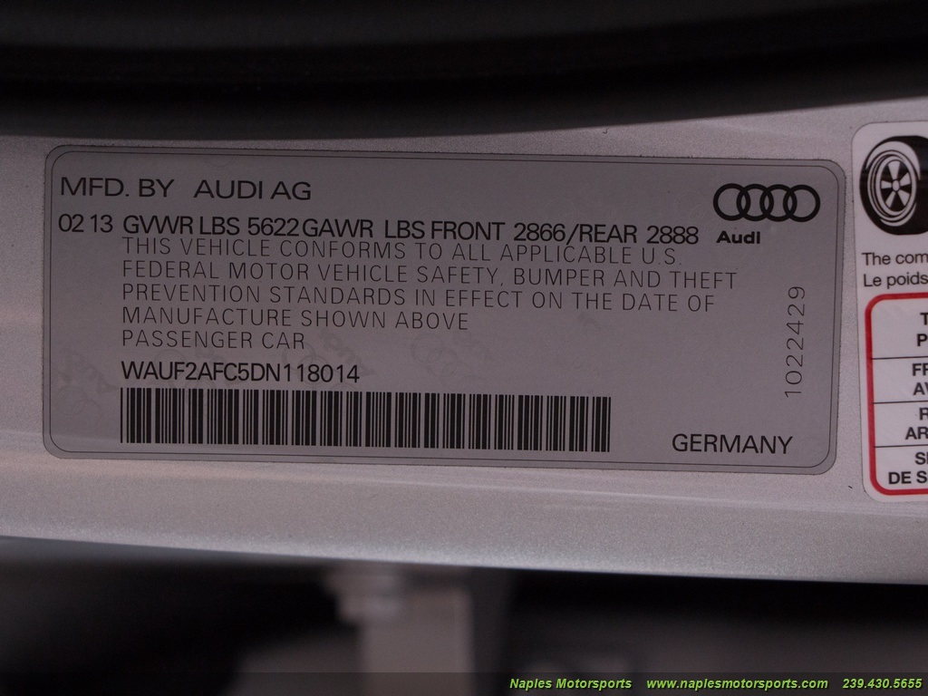 2013 Audi S6 4.0T Prestige - Photo 55 - Naples, FL 34104