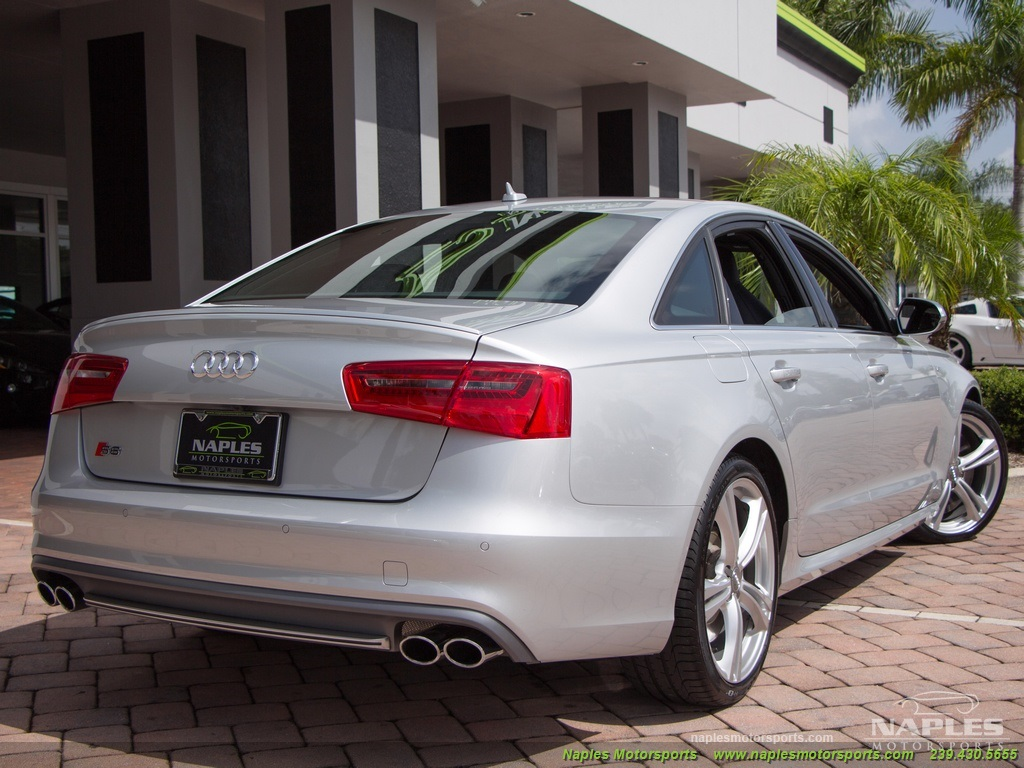 2013 Audi S6 4.0T Prestige - Photo 46 - Naples, FL 34104