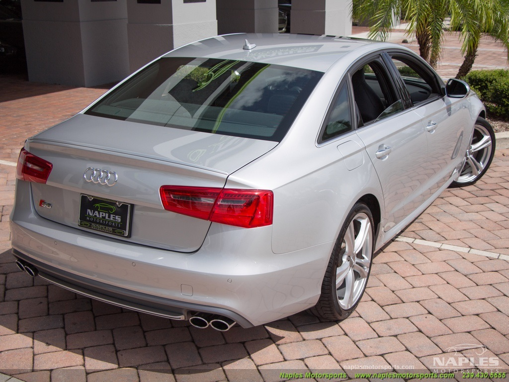 2013 Audi S6 4.0T Prestige - Photo 45 - Naples, FL 34104