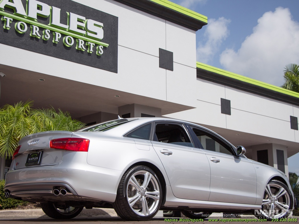 2013 Audi S6 4.0T Prestige - Photo 19 - Naples, FL 34104