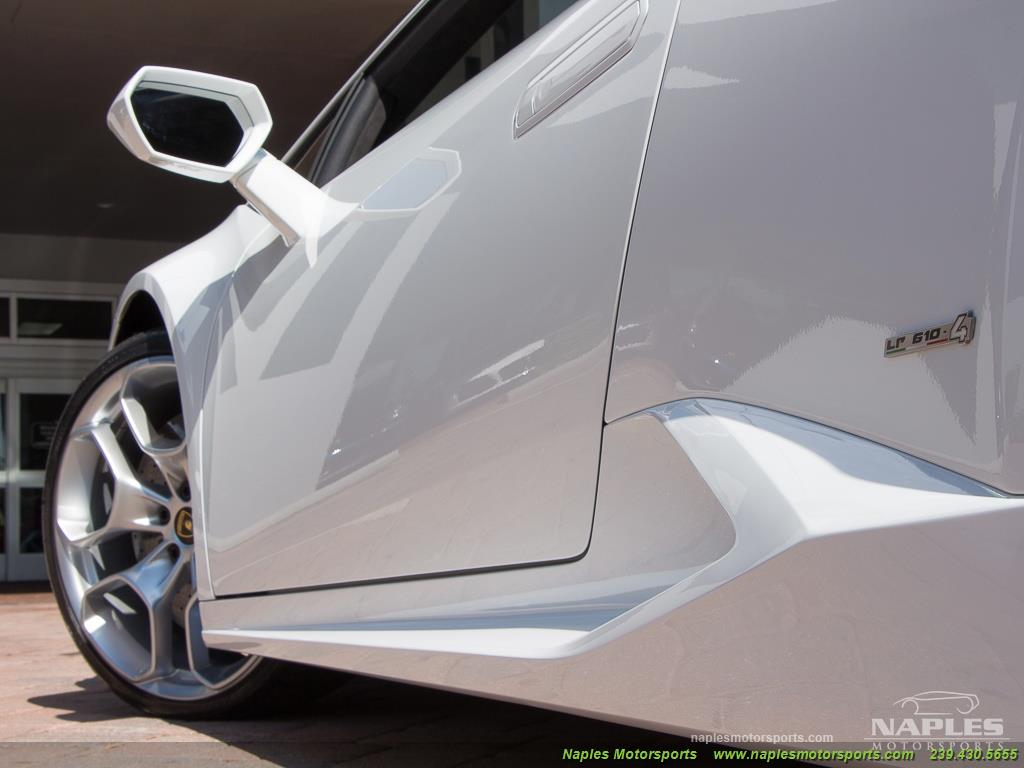 2015 Lamborghini Huracan LP 610-4 - Photo 31 - Naples, FL 34104