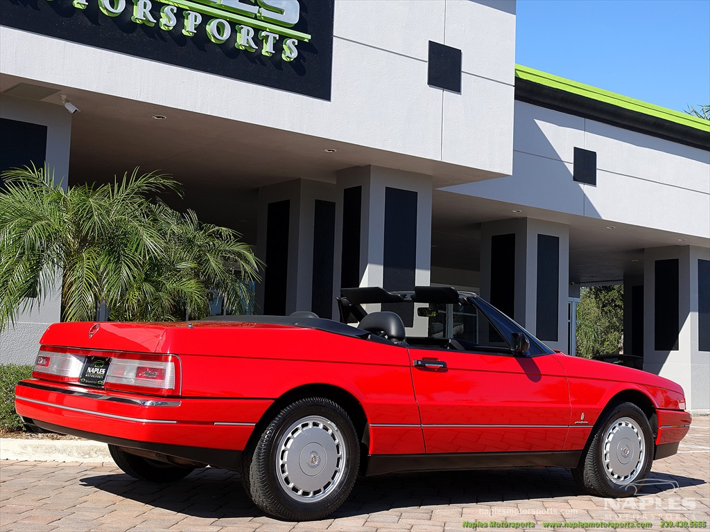 1991 Cadillac Allante - Photo 32 - Naples, FL 34104