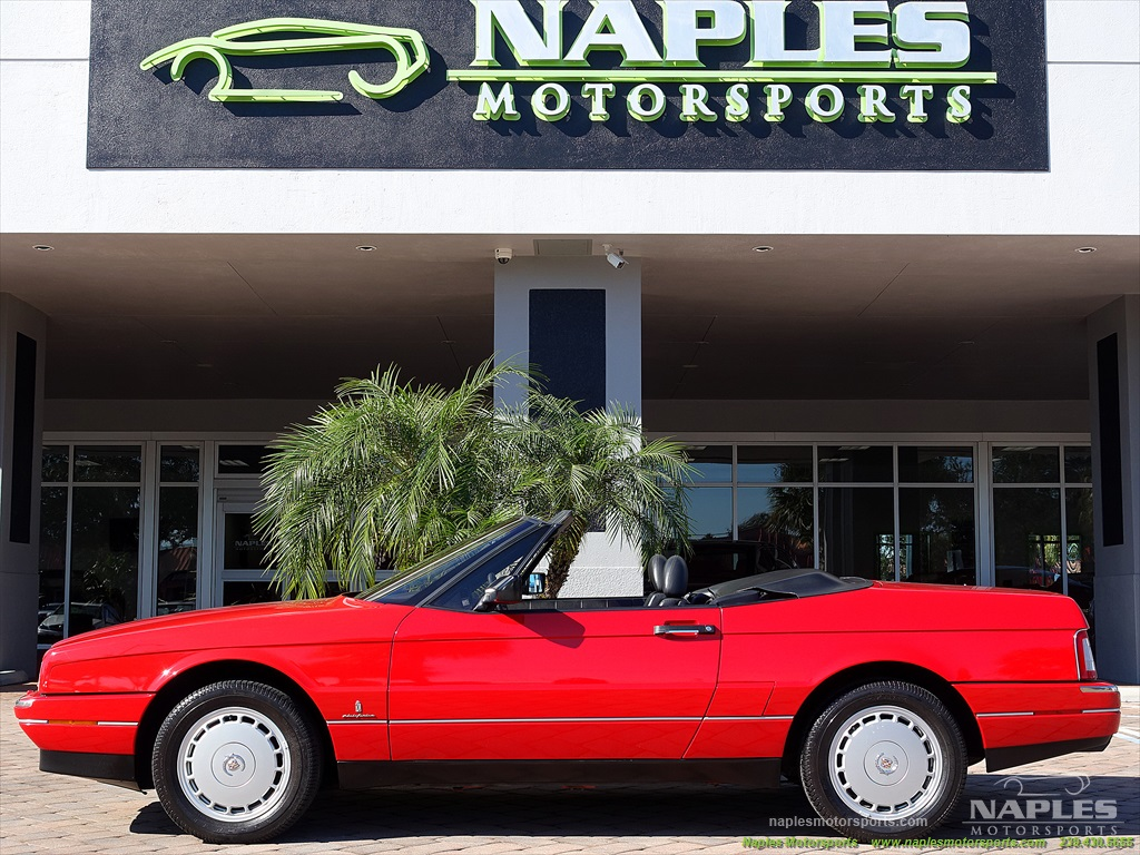 1991 Cadillac Allante - Photo 23 - Naples, FL 34104