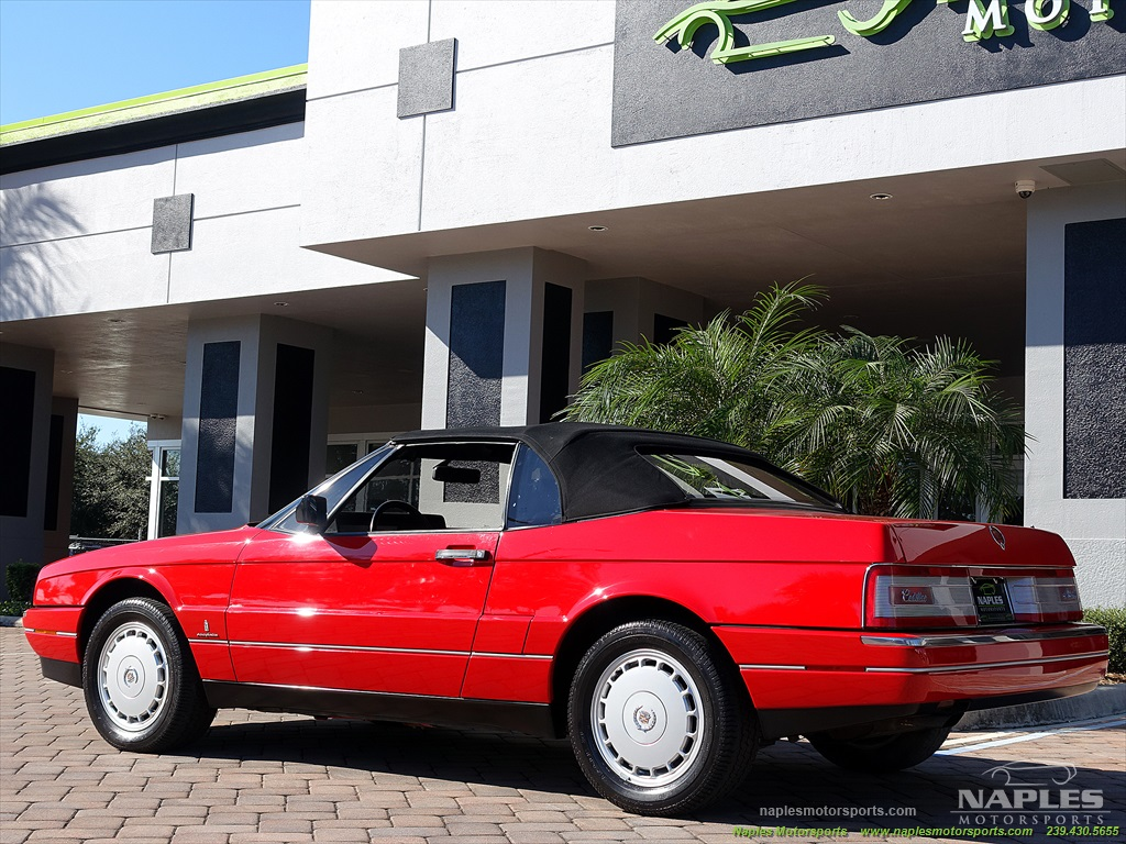 1991 Cadillac Allante - Photo 22 - Naples, FL 34104
