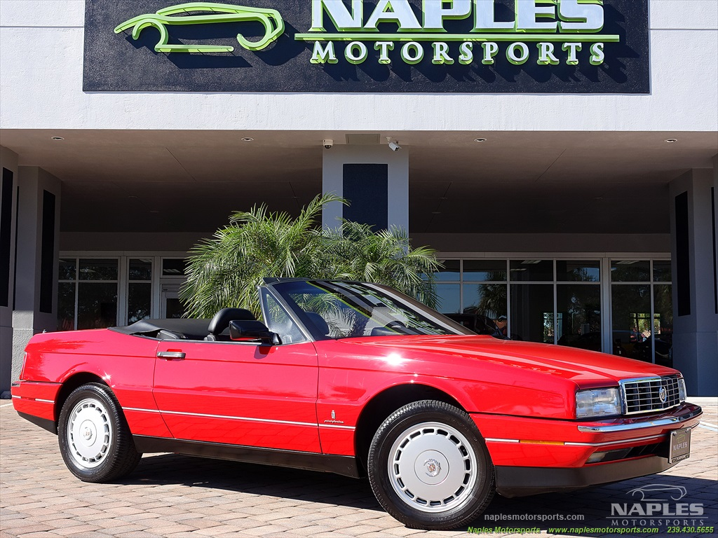 1991 Cadillac Allante - Photo 56 - Naples, FL 34104