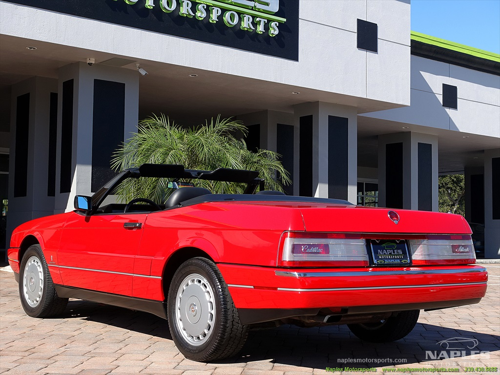 1991 Cadillac Allante - Photo 45 - Naples, FL 34104
