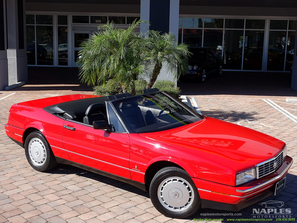 1991 Cadillac Allante - Photo 5 - Naples, FL 34104