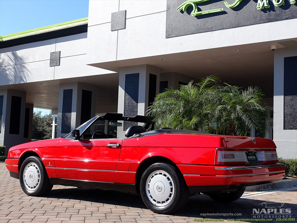 1991 Cadillac Allante - Photo 25 - Naples, FL 34104