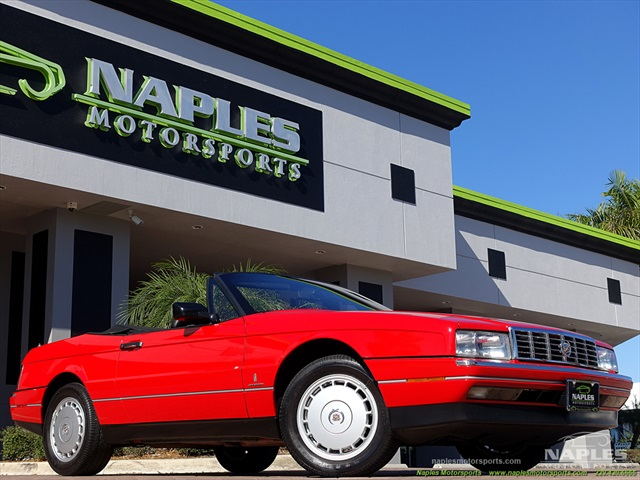 1991 Cadillac Allante - Photo 1 - Naples, FL 34104