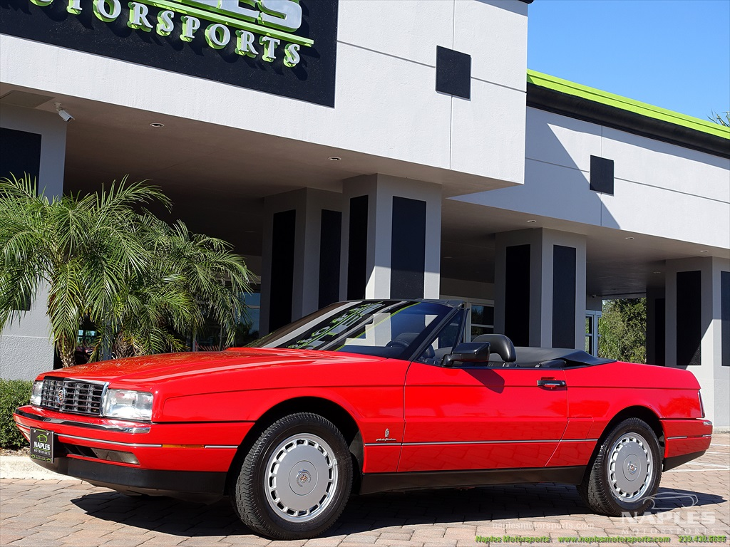 1991 Cadillac Allante - Photo 16 - Naples, FL 34104