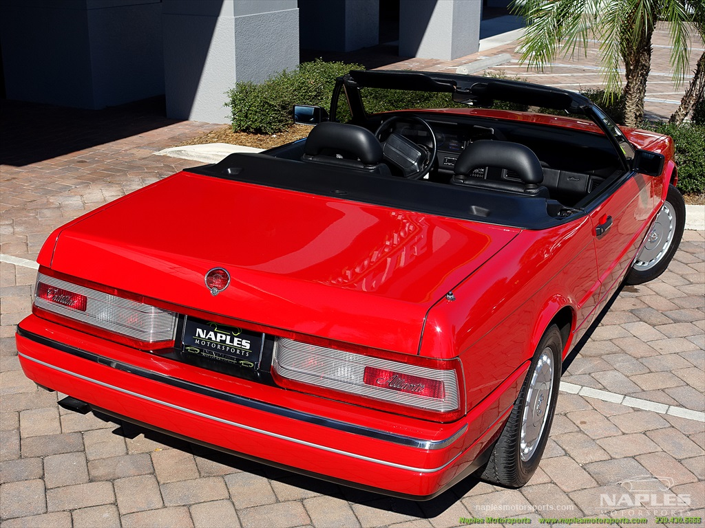 1991 Cadillac Allante - Photo 50 - Naples, FL 34104