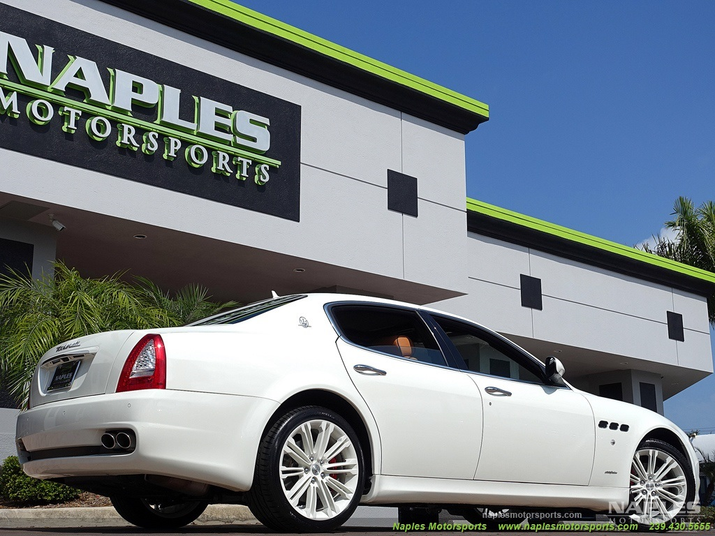 2011 maserati quattroporte for Motor vehicle naples fl