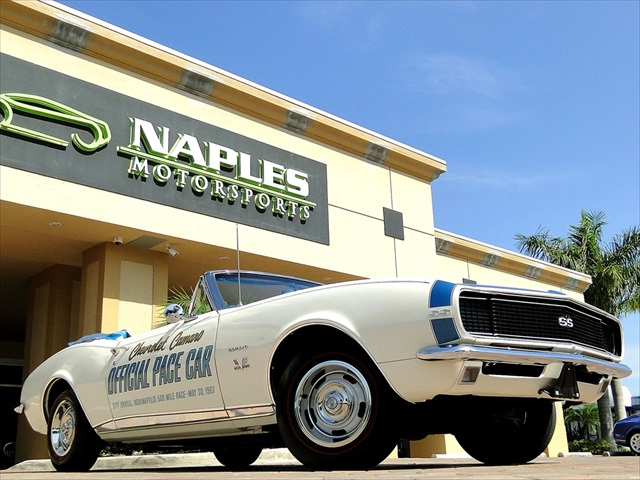 1967 Chevrolet Camaro SS Indianapolis Pace Car - Photo 1 - Naples, FL 34104