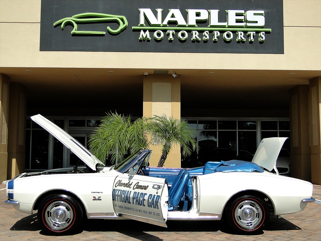 1967 Chevrolet Camaro SS Indianapolis Pace Car - Photo 21 - Naples, FL 34104