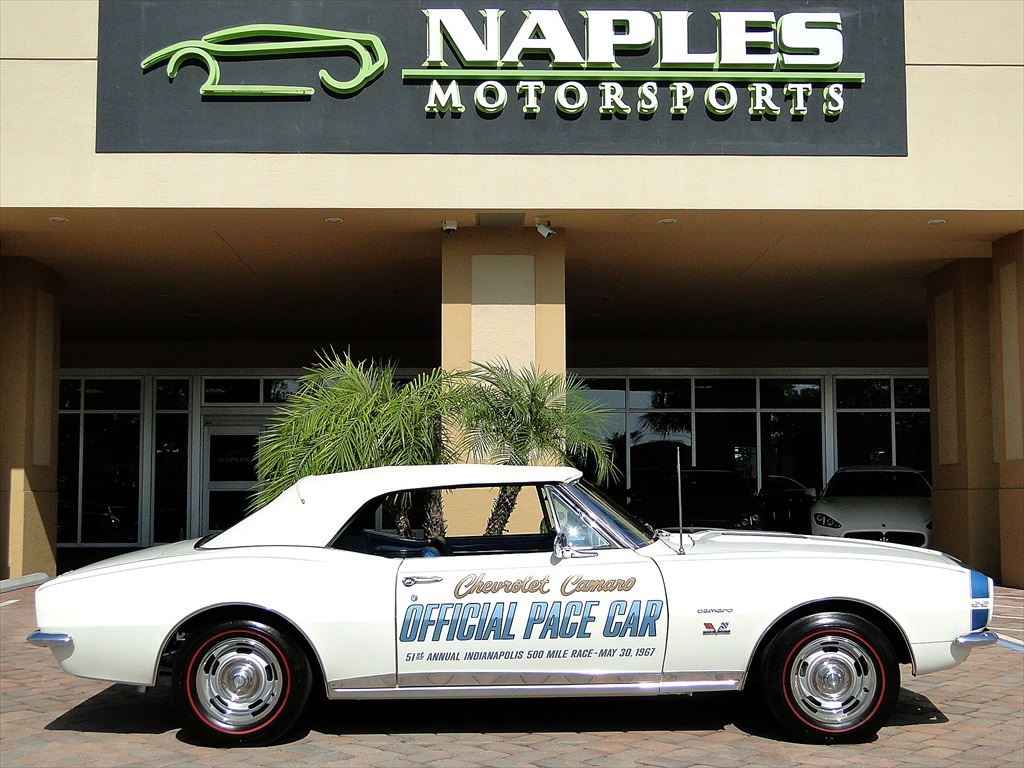1967 Chevrolet Camaro SS Indianapolis Pace Car - Photo 16 - Naples, FL 34104