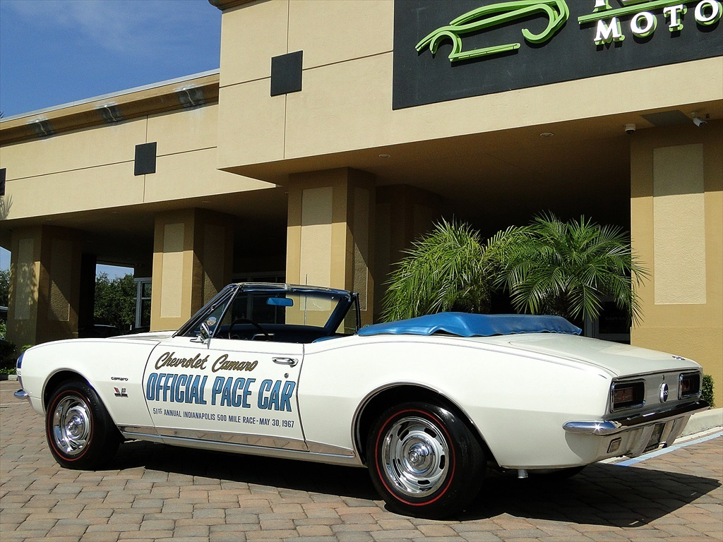 1967 Chevrolet Camaro SS Indianapolis Pace Car - Photo 43 - Naples, FL 34104