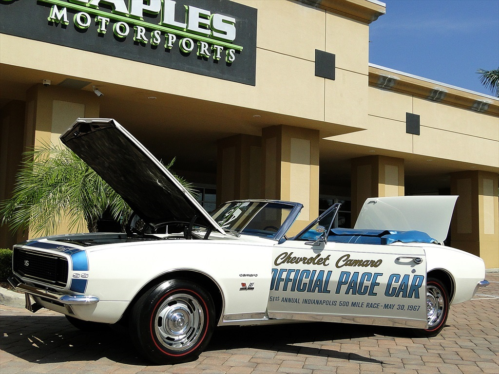 1967 Chevrolet Camaro SS Indianapolis Pace Car - Photo 19 - Naples, FL 34104