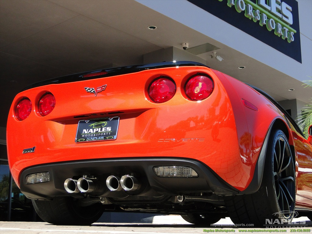 2013 Chevrolet Corvette ZR1 - Photo 52 - Naples, FL 34104