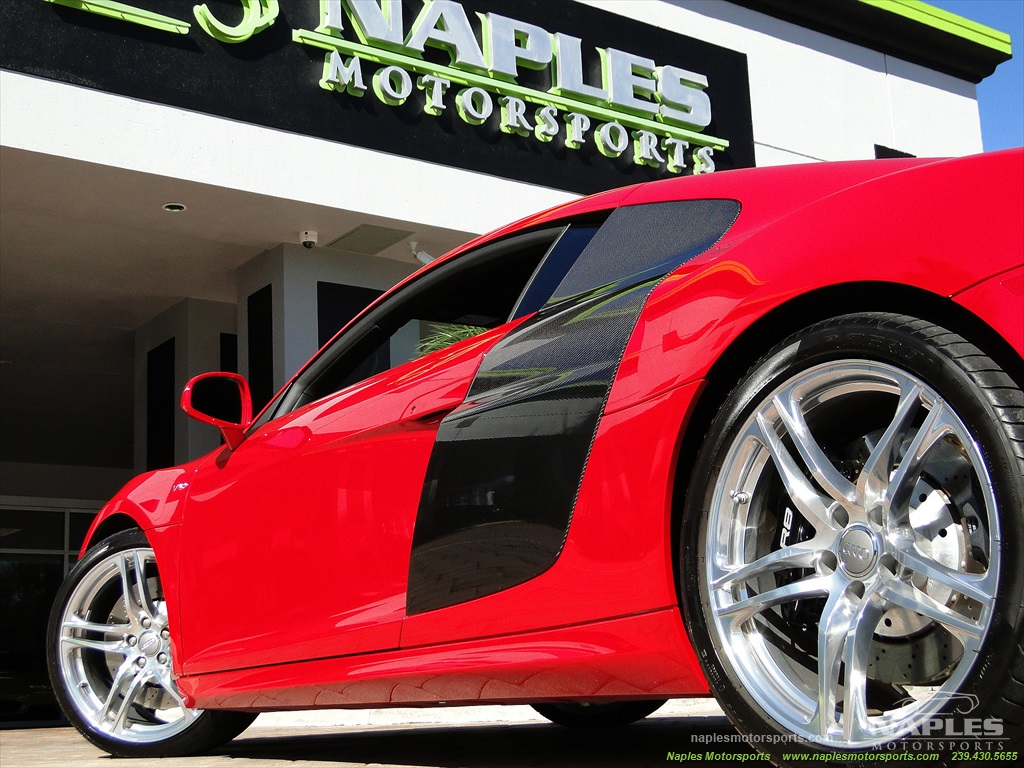 2011 Audi R8 5.2 quattro - Photo 42 - Naples, FL 34104