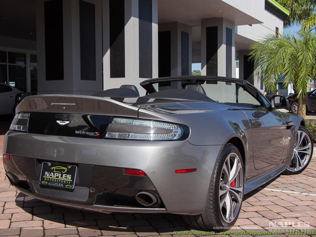 2015 Aston Martin Vantage S V12 Roadster - Photo 52 - Naples, FL 34104