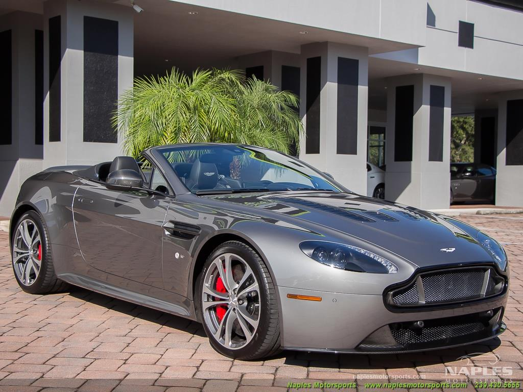 2015 Aston Martin Vantage S V12 Roadster - Photo 36 - Naples, FL 34104