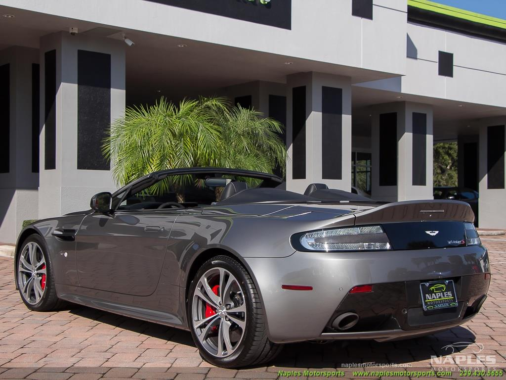 2015 Aston Martin Vantage S V12 Roadster - Photo 42 - Naples, FL 34104
