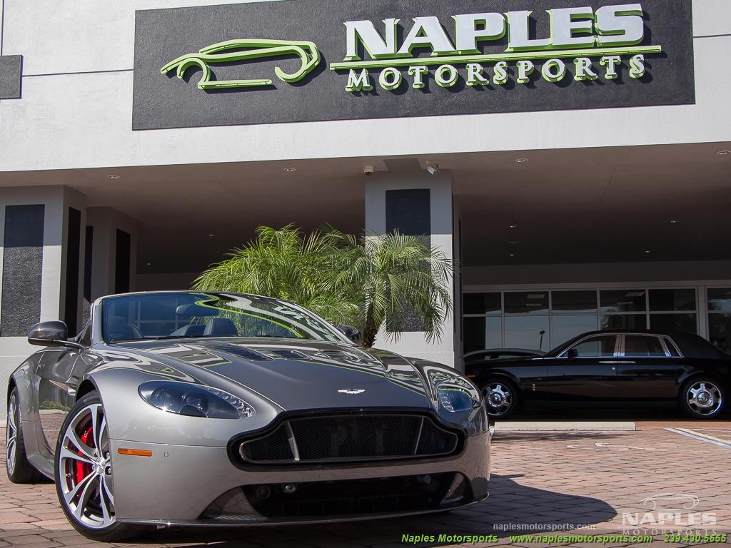 2015 Aston Martin Vantage S V12 Roadster - Photo 53 - Naples, FL 34104