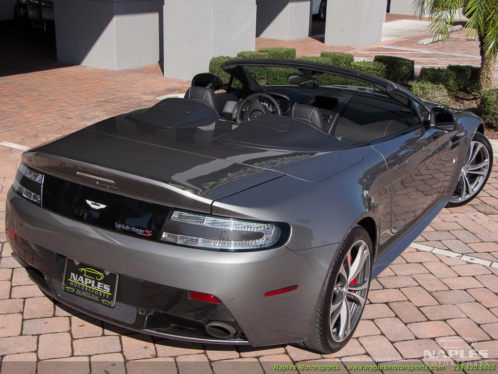 2015 Aston Martin Vantage S V12 Roadster - Photo 45 - Naples, FL 34104