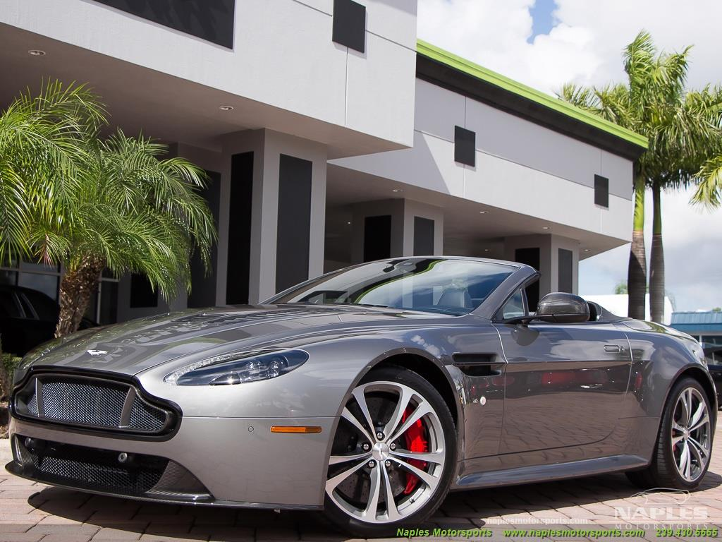 2015 Aston Martin Vantage S V12 Roadster - Photo 18 - Naples, FL 34104