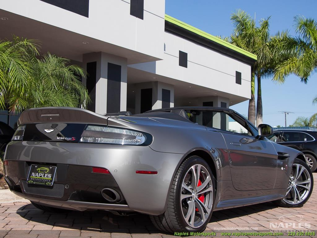 2015 Aston Martin Vantage S V12 Roadster - Photo 34 - Naples, FL 34104