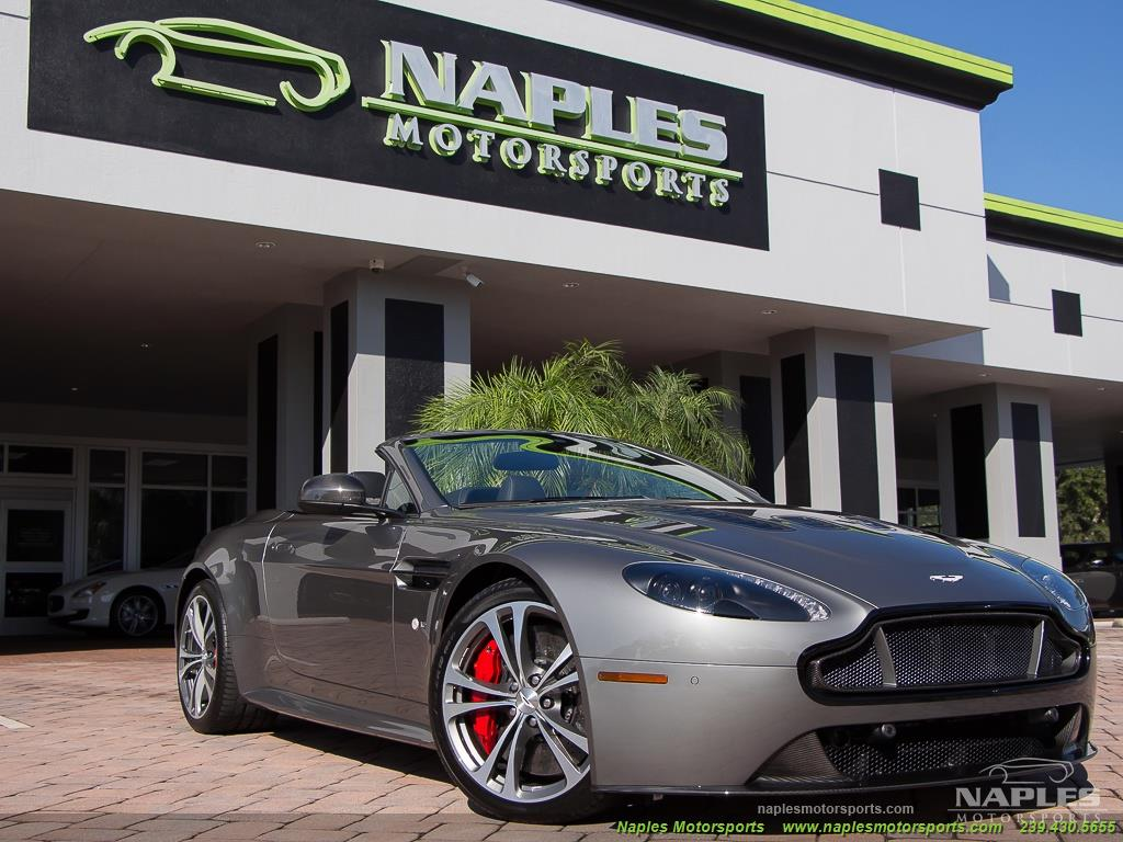 2015 Aston Martin Vantage S V12 Roadster - Photo 38 - Naples, FL 34104