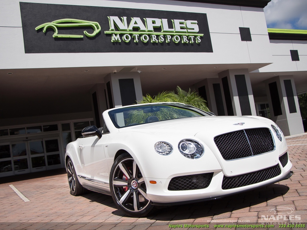 2014 Bentley Continental GT GTC V8 S Mulliner - Photo 19 - Naples, FL 34104