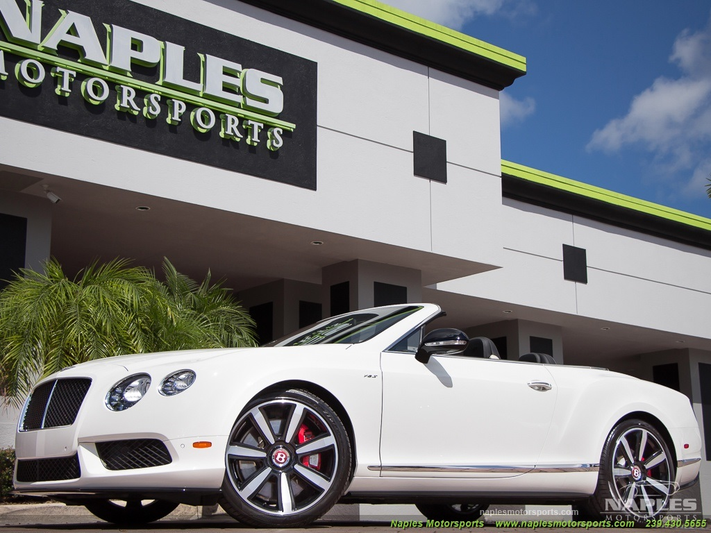 2014 Bentley Continental GT GTC V8 S Mulliner - Photo 9 - Naples, FL 34104