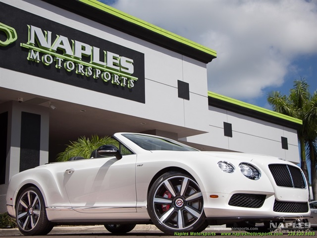 2014 Bentley Continental GT GTC V8 S Mulliner - Photo 1 - Naples, FL 34104