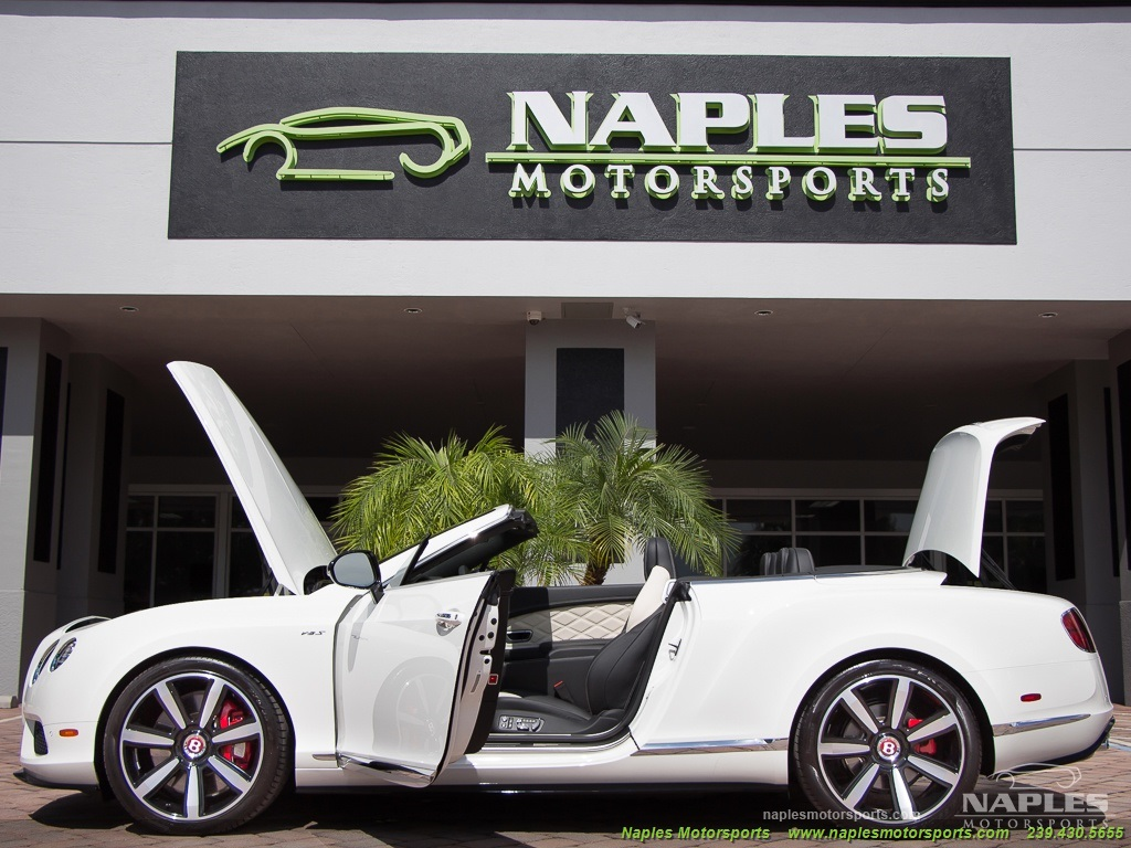 2014 Bentley Continental GT GTC V8 S Mulliner - Photo 58 - Naples, FL 34104