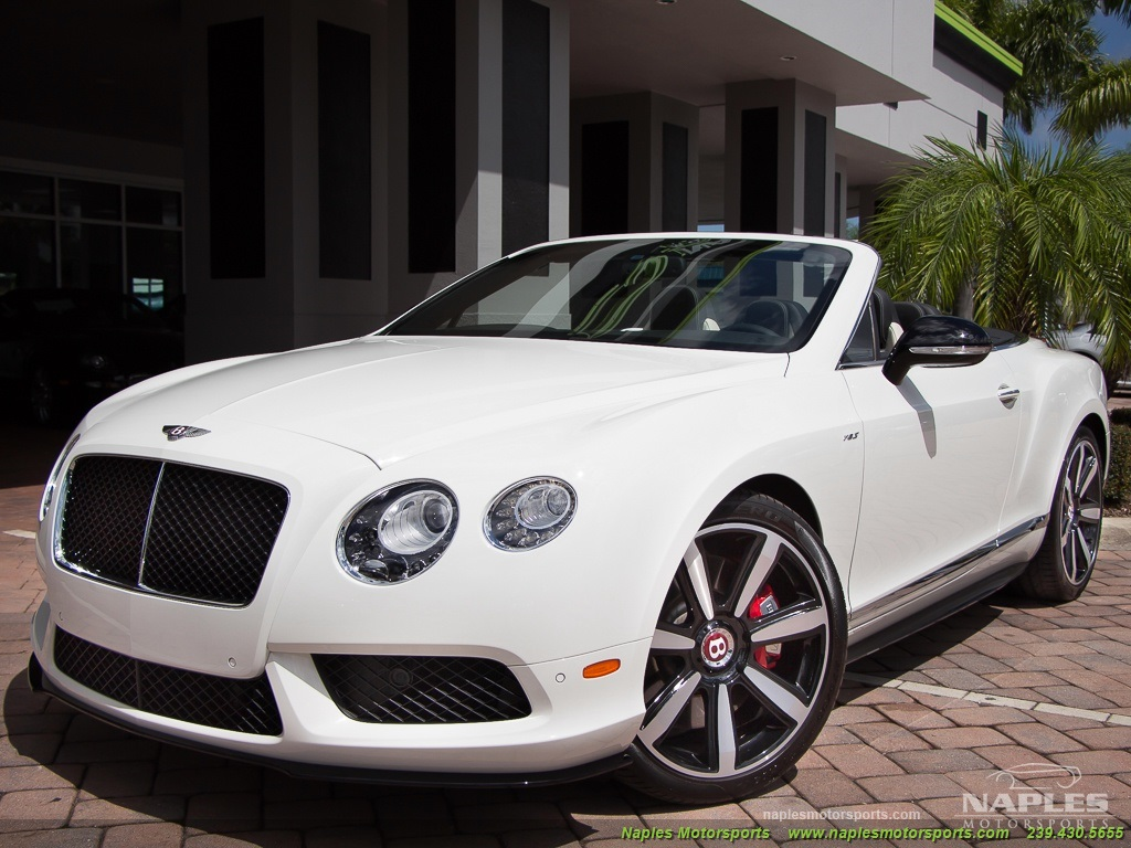 2014 Bentley Continental GT GTC V8 S Mulliner - Photo 33 - Naples, FL 34104