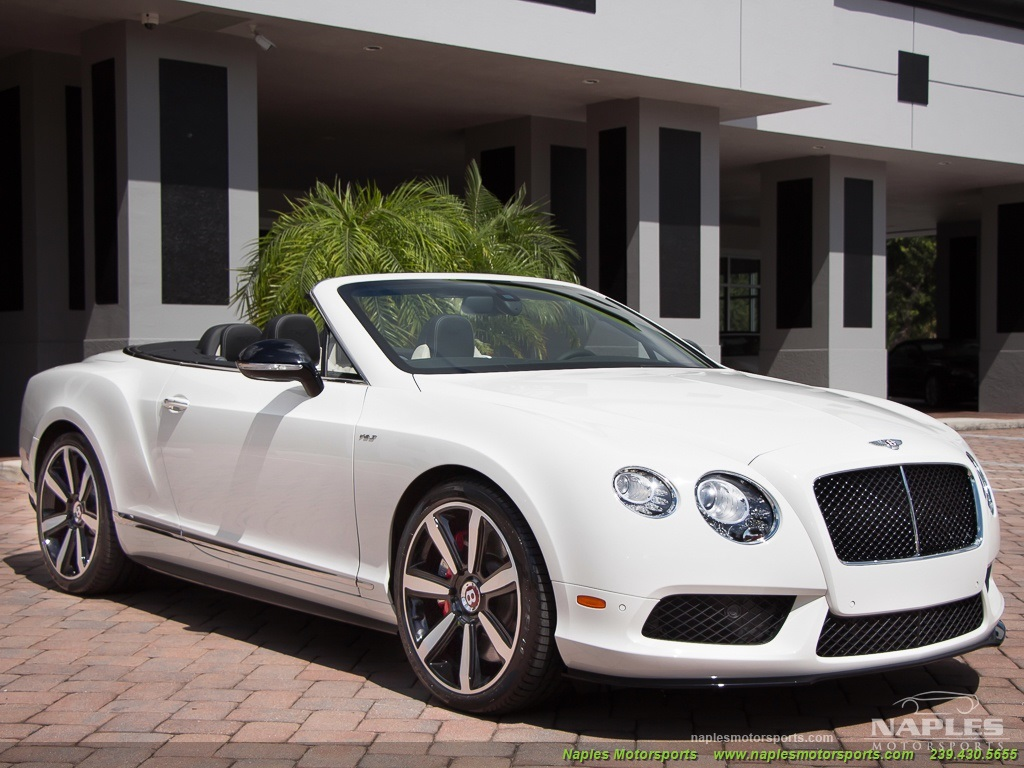 2014 Bentley Continental GT GTC V8 S Mulliner - Photo 17 - Naples, FL 34104