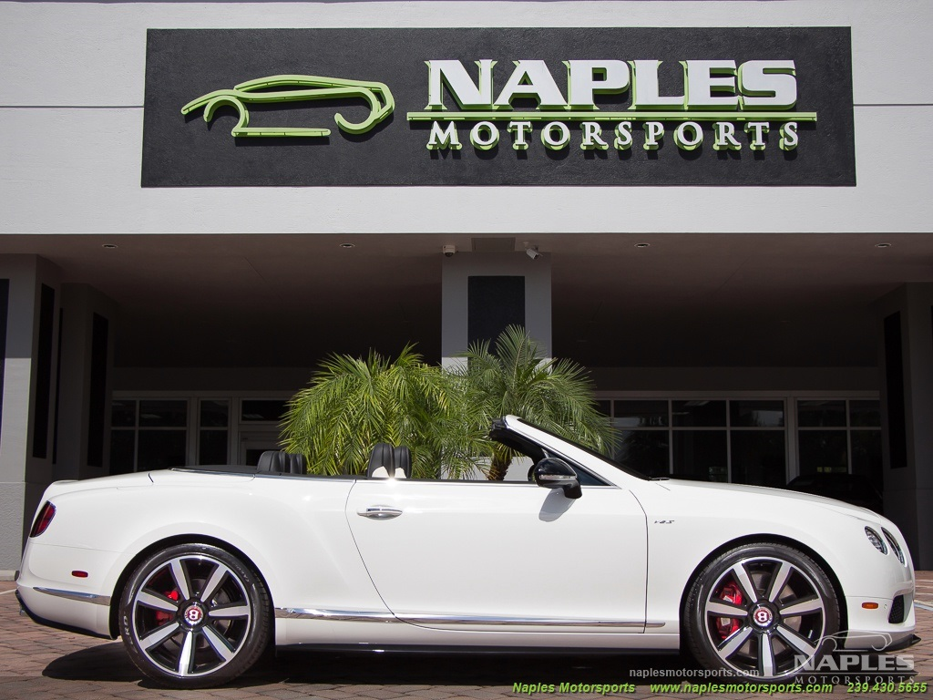2014 Bentley Continental GT GTC V8 S Mulliner - Photo 11 - Naples, FL 34104
