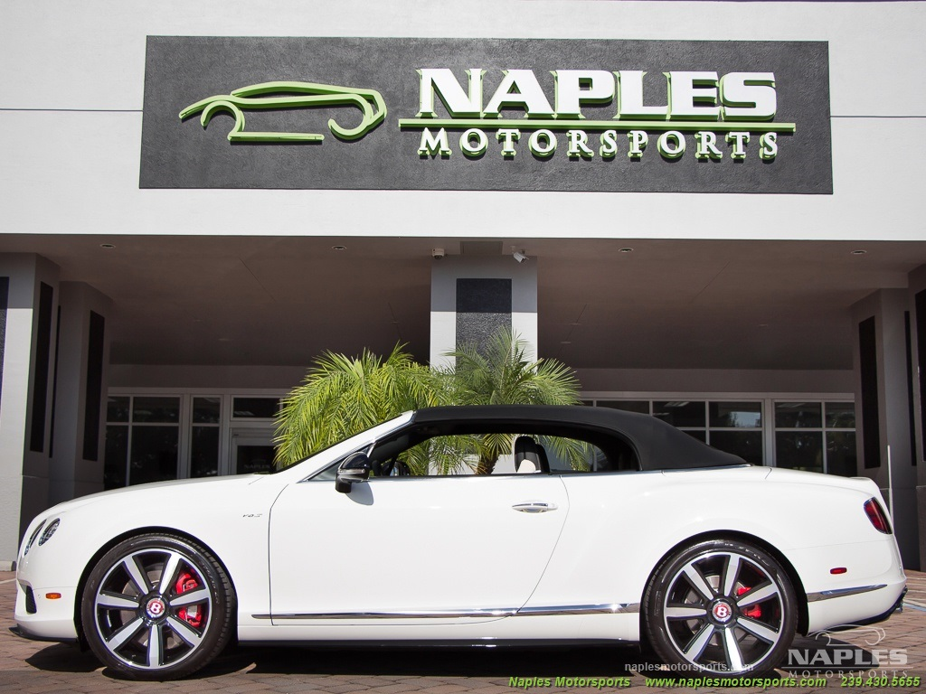 2014 Bentley Continental GT GTC V8 S Mulliner - Photo 8 - Naples, FL 34104