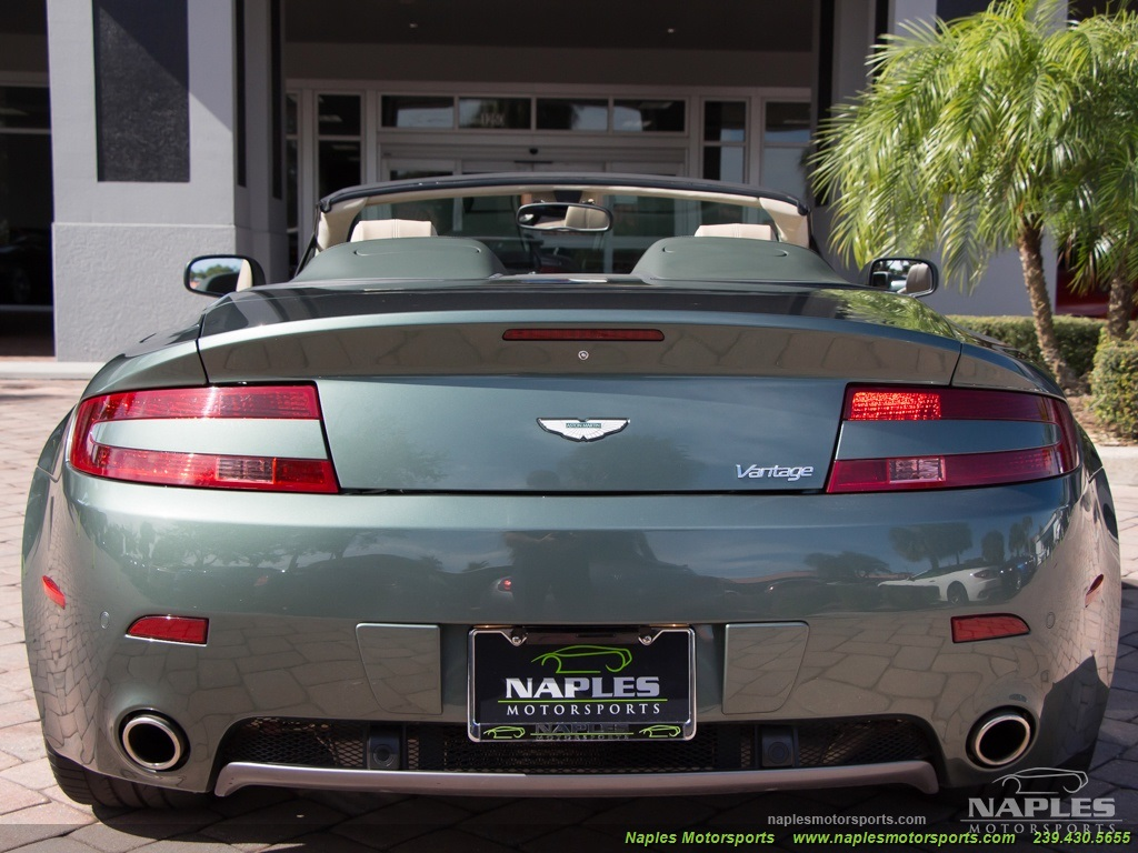 2009 Aston Martin Vantage Roadster - Photo 57 - Naples, FL 34104