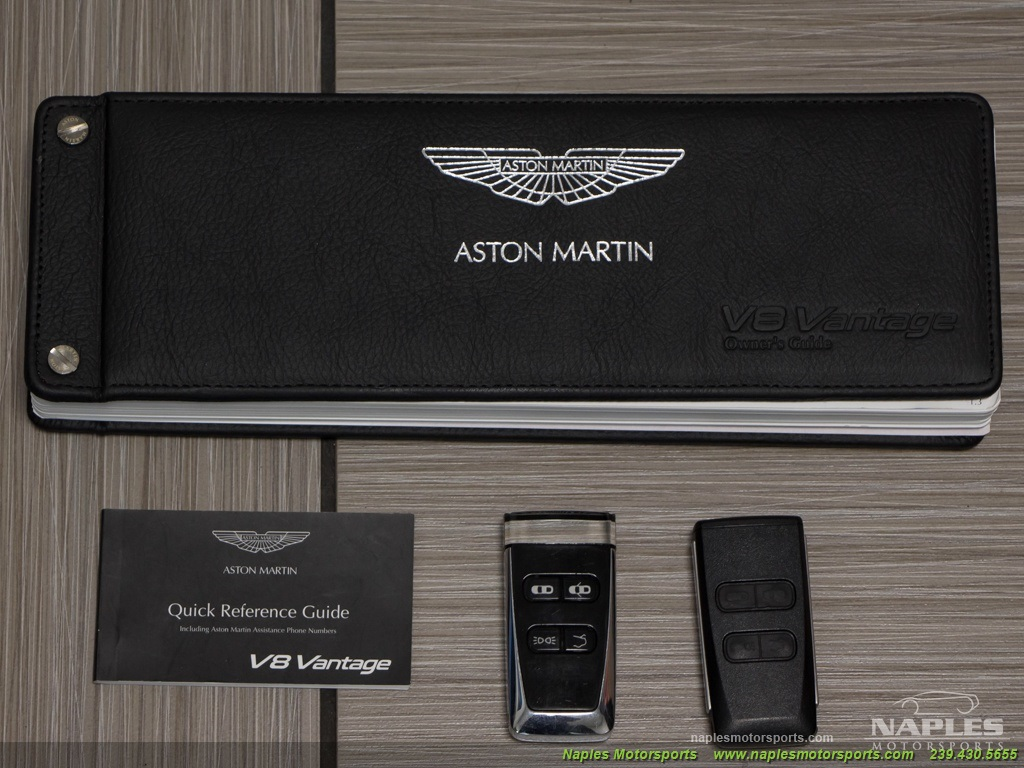 2009 Aston Martin Vantage Roadster - Photo 59 - Naples, FL 34104