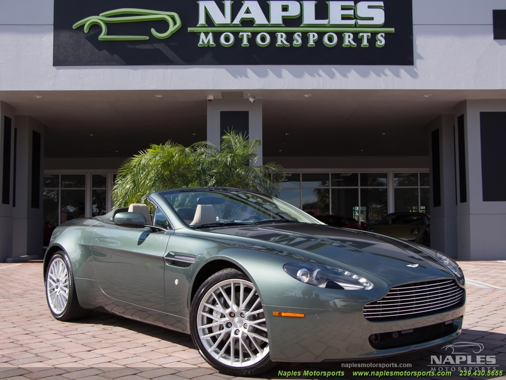 2009 Aston Martin Vantage Roadster - Photo 52 - Naples, FL 34104