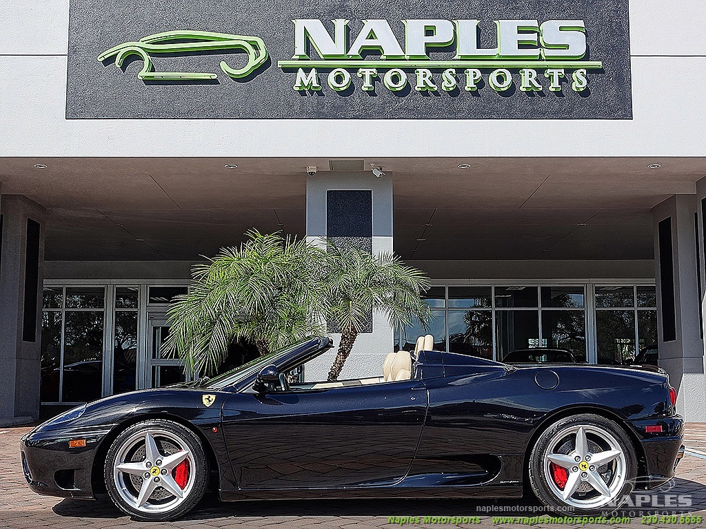 2001 ferrari 360 for Motor vehicle naples fl