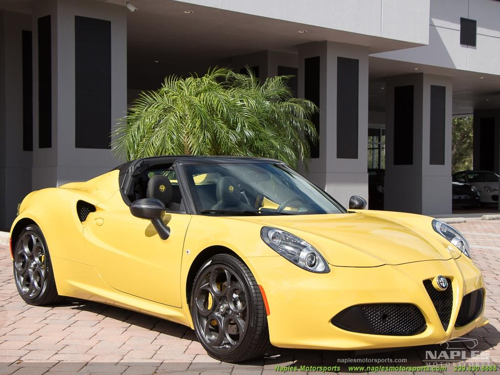 2015 Alfa Romeo Spider 4c - Photo 36 - Naples, FL 34104